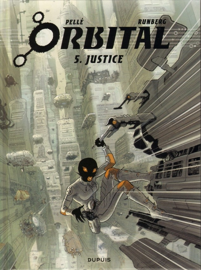 Couverture de Orbital -5- Justice