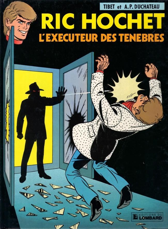 Couverture de Ric Hochet -49- L'exécuteur des ténèbres