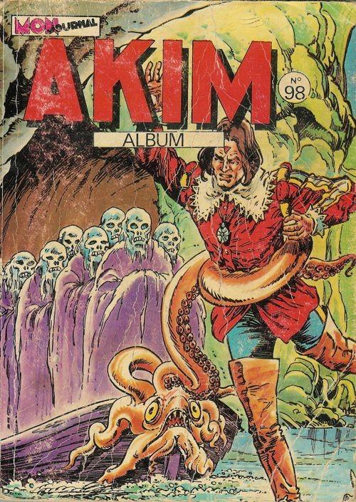 Couverture de Akim (1re série) -REC098- Album N°98 (du n°513 au n°516)