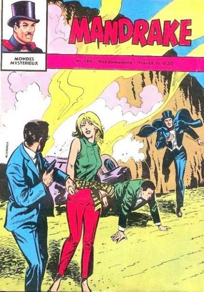 Couverture de Mandrake (1e Série - Remparts) (Mondes Mystérieux - 1) -189- Le hobby du milliardaire