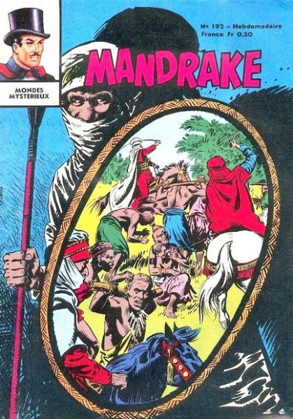 Couverture de Mandrake (1e Série - Remparts) (Mondes Mystérieux - 1) -192- Voleur par force