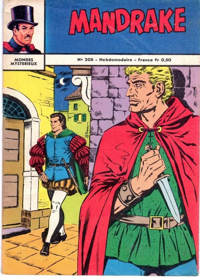Couverture de Mandrake (1e Série - Remparts) (Mondes Mystérieux - 1) -208- Le royaume de Tirova