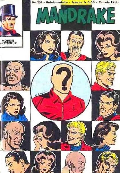 Couverture de Mandrake (1e Série - Remparts) (Mondes Mystérieux - 1) -251- L'homme sans tête