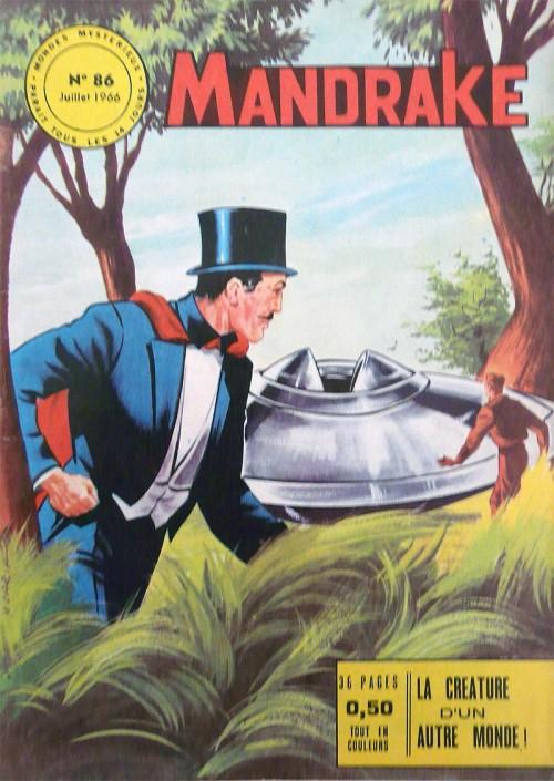 Couverture de Mandrake (1e Série - Remparts) (Mondes Mystérieux - 1) -86- La créature d'un autre monde
