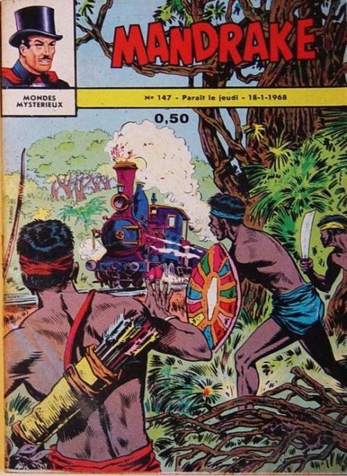 Couverture de Mandrake (1e Série - Remparts) (Mondes Mystérieux - 1) -147- Mandrake dans le désert