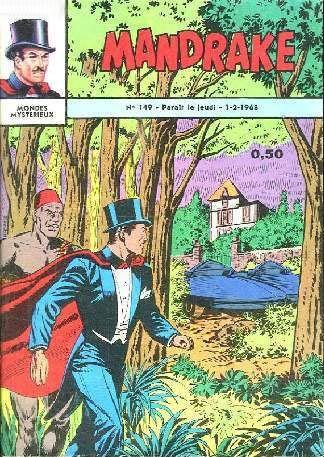 Couverture de Mandrake (1e Série - Remparts) (Mondes Mystérieux - 1) -149- Les petits hommes