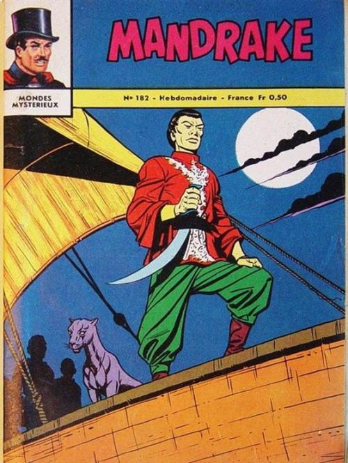 Couverture de Mandrake (1e Série - Remparts) (Mondes Mystérieux - 1) -182- Les pirates