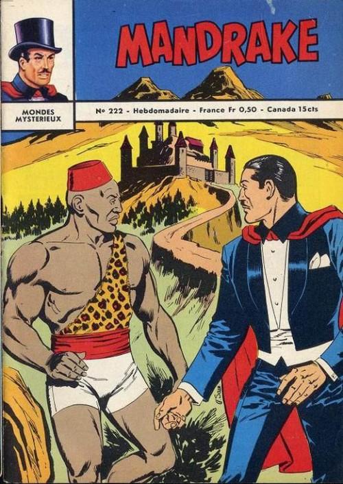 Couverture de Mandrake (1e Série - Remparts) (Mondes Mystérieux - 1) -222- Le retour du Cobra