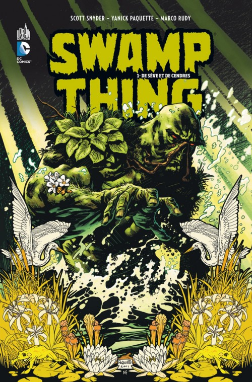 Swamp Thing - De seve et de cendres - FR - CBR
