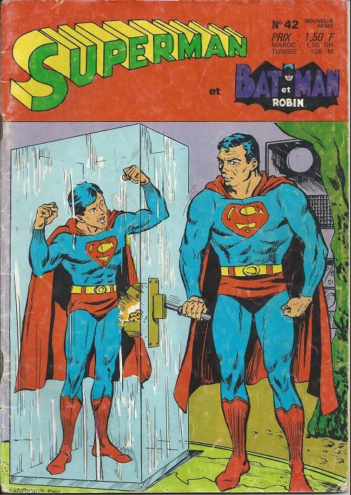 Superman et batman et robin 42 le chatiment du fils de superman - Image de batman et robin ...