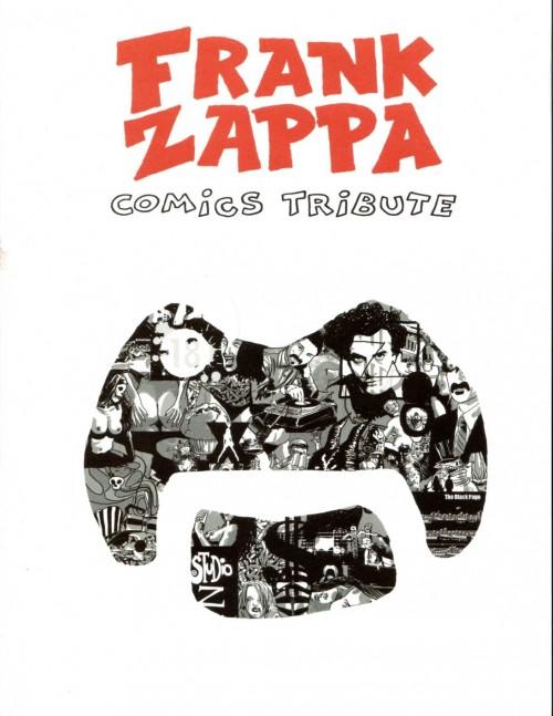 Couverture de Frank Zappa Comics Tribute
