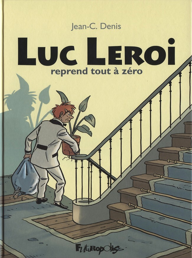Couverture de Luc Leroi -INT- Luc Leroi reprend tout à zéro