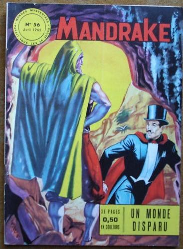 Couverture de Mandrake (1e Série - Remparts) (Mondes Mystérieux - 1) -56- Un monde disparu