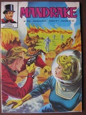 Couverture de Mandrake (1e Série - Remparts) (Mondes Mystérieux - 1) -308- L'invasion des babous