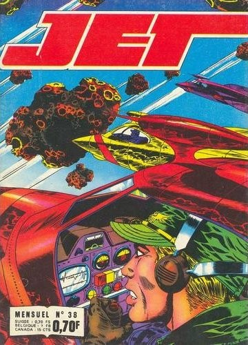 Couverture de Jet Logan (puis Jet) -38- Un faux monde