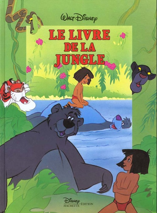 le livre de la jungle disney 4 le livre de la jungle. Black Bedroom Furniture Sets. Home Design Ideas
