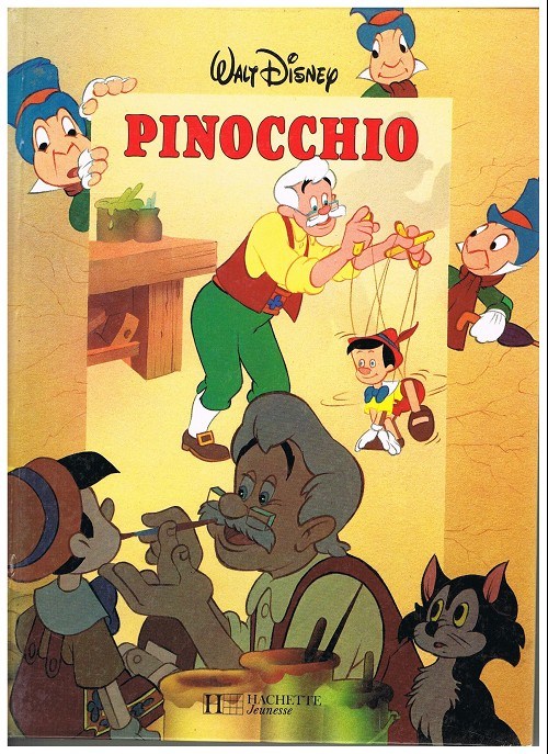 walt disney hachette pinocchio. Black Bedroom Furniture Sets. Home Design Ideas
