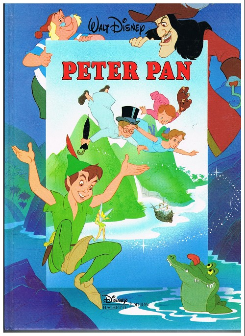 walt disney hachette peter pan. Black Bedroom Furniture Sets. Home Design Ideas