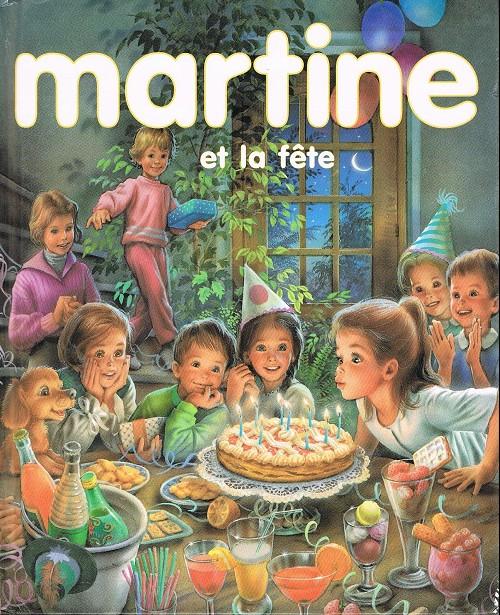 martine reliure   martine et la f te