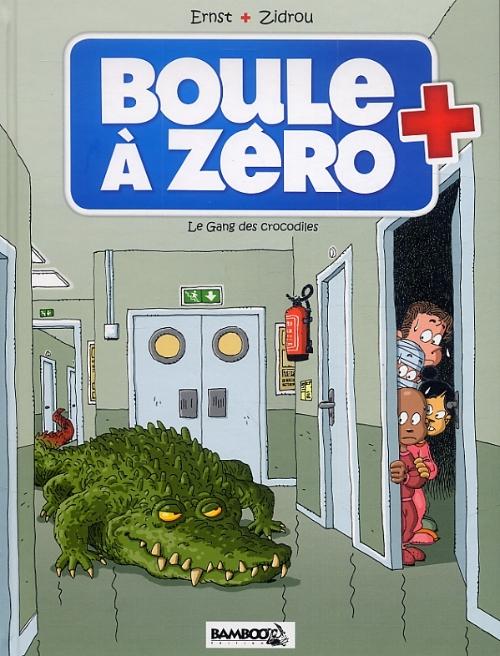 Couverture de Boule à zéro -2- Le gang des crocodiles
