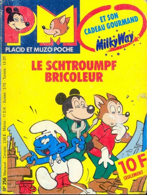 Placid et muzo poche bd informations cotes page 19 - Schtroumpf bricoleur ...