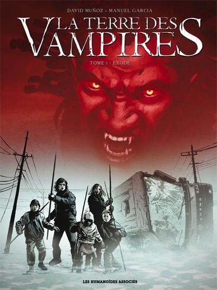 La Terre des Vampires 3 tomes