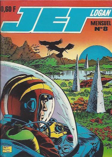 Couverture de Jet Logan (puis Jet) -8- Les