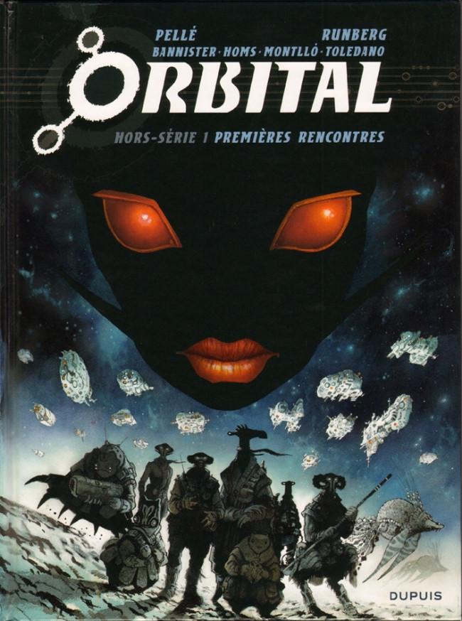 Couverture de Orbital -HS1- Premières rencontres