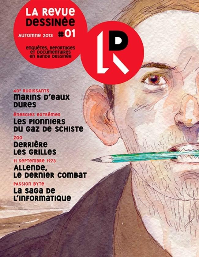 Couverture de La revue dessinée -1- #01