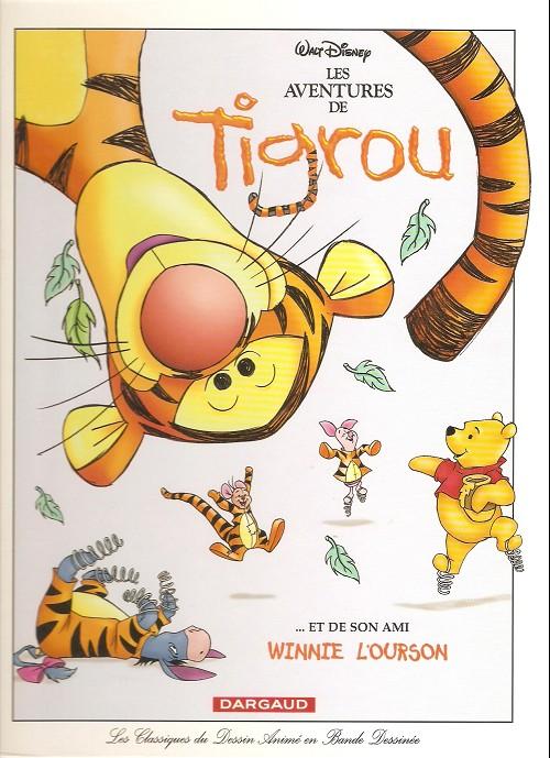 Les classiques du dessin anim les aventures de tigrou et de son ami winnie l 39 ourson - Dessin de winnie l ourson ...