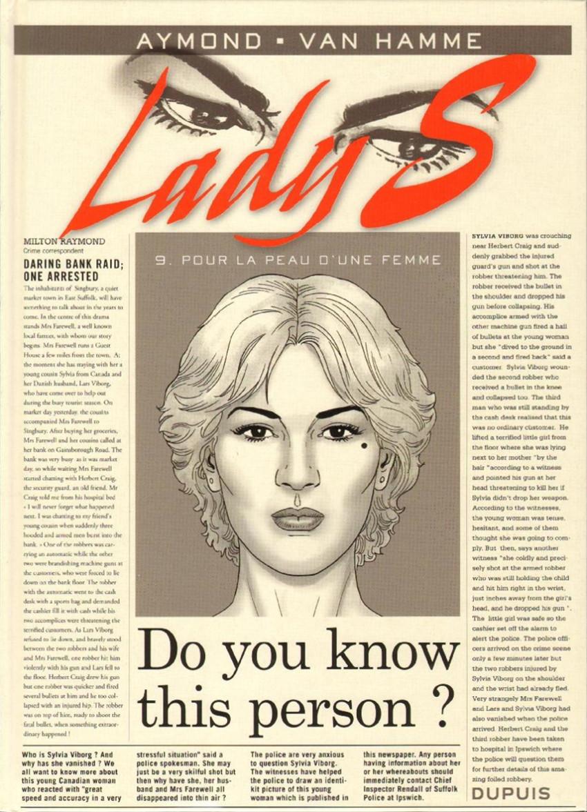 Lady S. 9. Pour la peau d'une femme