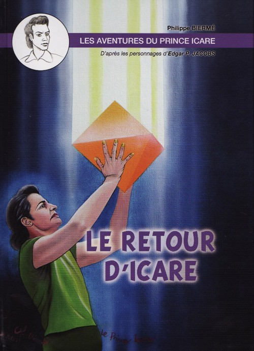 Couverture de (AUT) Jacobs -26- Les Aventures du prince Icare - Le Retour d'Icare