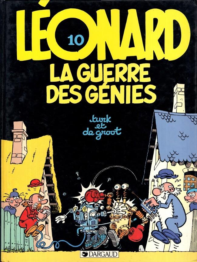 léonard le génie - tome 1 à 10