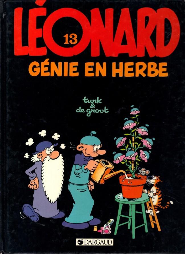 Couverture de Léonard -13- Génie en herbe