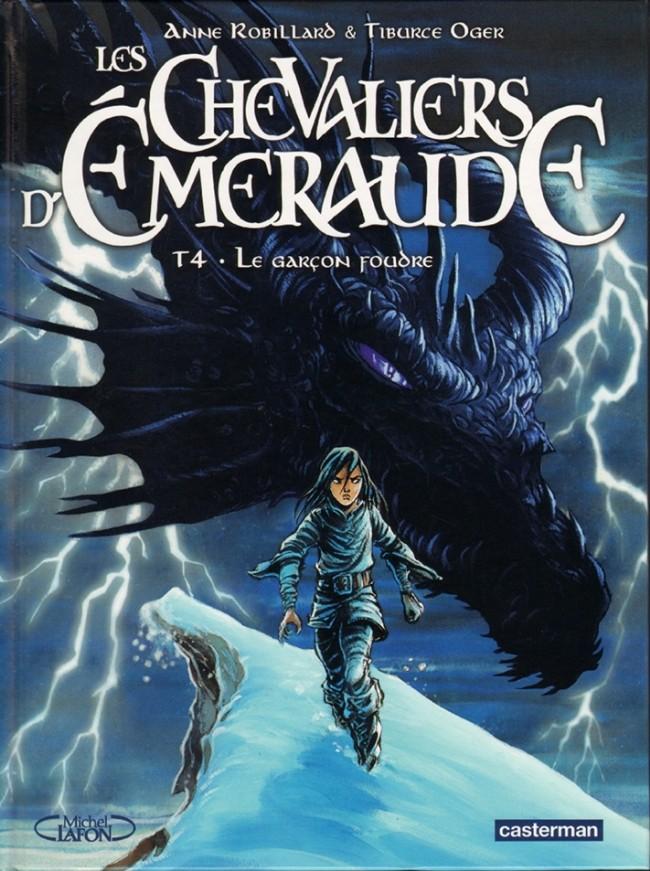 Les chevaliers d'�meraude Tome 4 : Le gar�on foudre