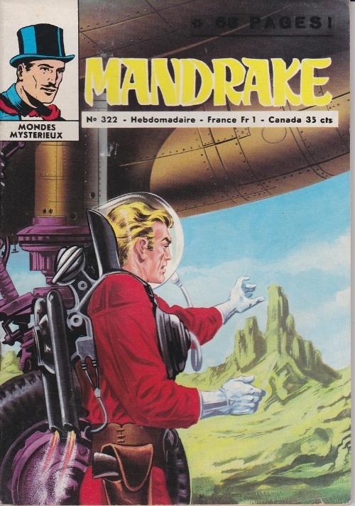 Couverture de Mandrake (1e Série - Remparts) (Mondes Mystérieux - 1) -322- Le roi des contrebandiers