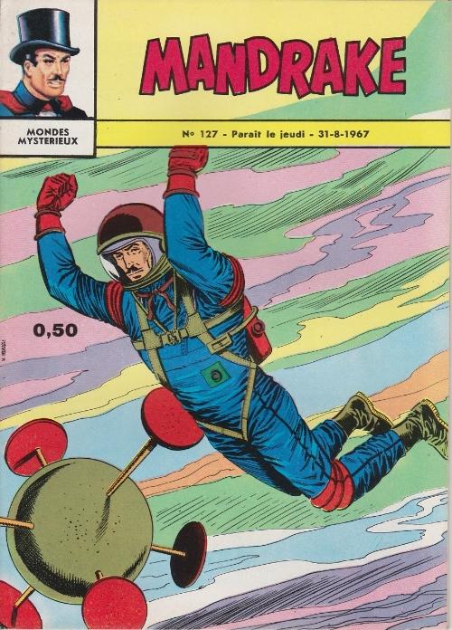 Couverture de Mandrake (1e Série - Remparts) (Mondes Mystérieux - 1) -127- Le prisonnier des étoiles