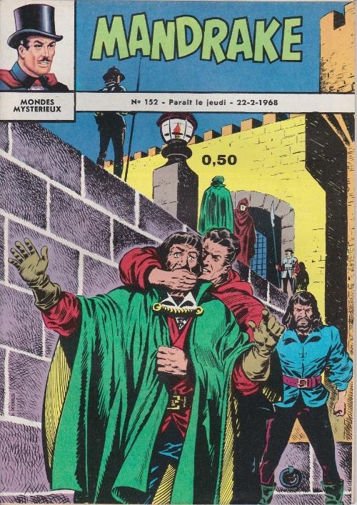 Couverture de Mandrake (1e Série - Remparts) (Mondes Mystérieux - 1) -152- Tous dans le sac