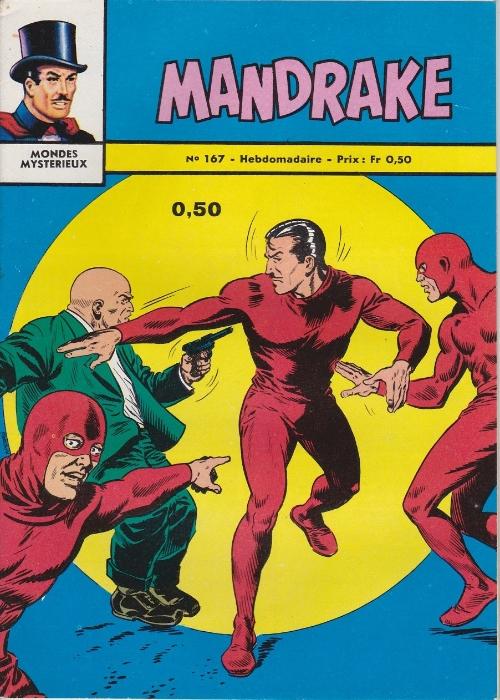 Couverture de Mandrake (1e Série - Remparts) (Mondes Mystérieux - 1) -167- Les sphères voleuses