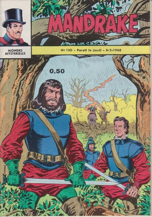 Couverture de Mandrake (1e Série - Remparts) (Mondes Mystérieux - 1) -150- L'équipe