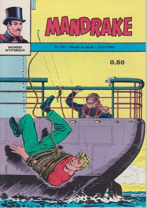 Couverture de Mandrake (1e Série - Remparts) (Mondes Mystérieux - 1) -151- Muscles a des ennuis...