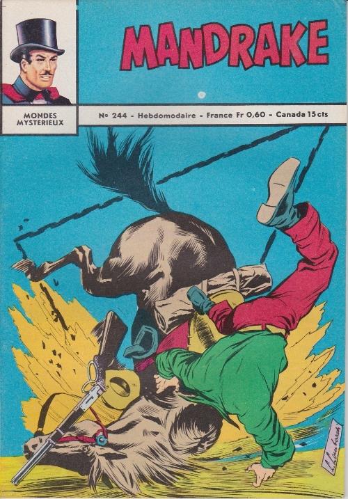 Couverture de Mandrake (1e Série - Remparts) (Mondes Mystérieux - 1) -244- Le roi des ténèbres 2