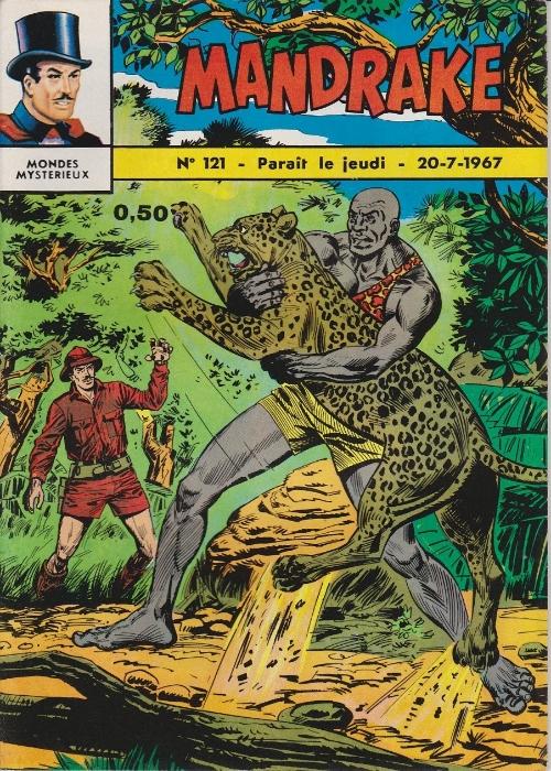 Couverture de Mandrake (1e Série - Remparts) (Mondes Mystérieux - 1) -121- Safari mortel
