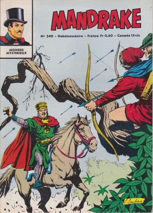 Couverture de Mandrake (1e Série - Remparts) (Mondes Mystérieux - 1) -240- Chasse au gangster