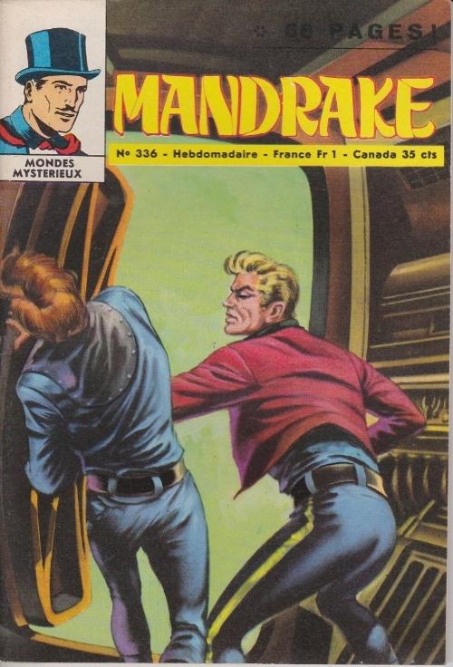 Couverture de Mandrake (1e Série - Remparts) (Mondes Mystérieux - 1) -336- Le cow-boy à deux têtes 2