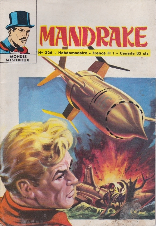 Couverture de Mandrake (1e Série - Remparts) (Mondes Mystérieux - 1) -326- Pour aider Anita Morris