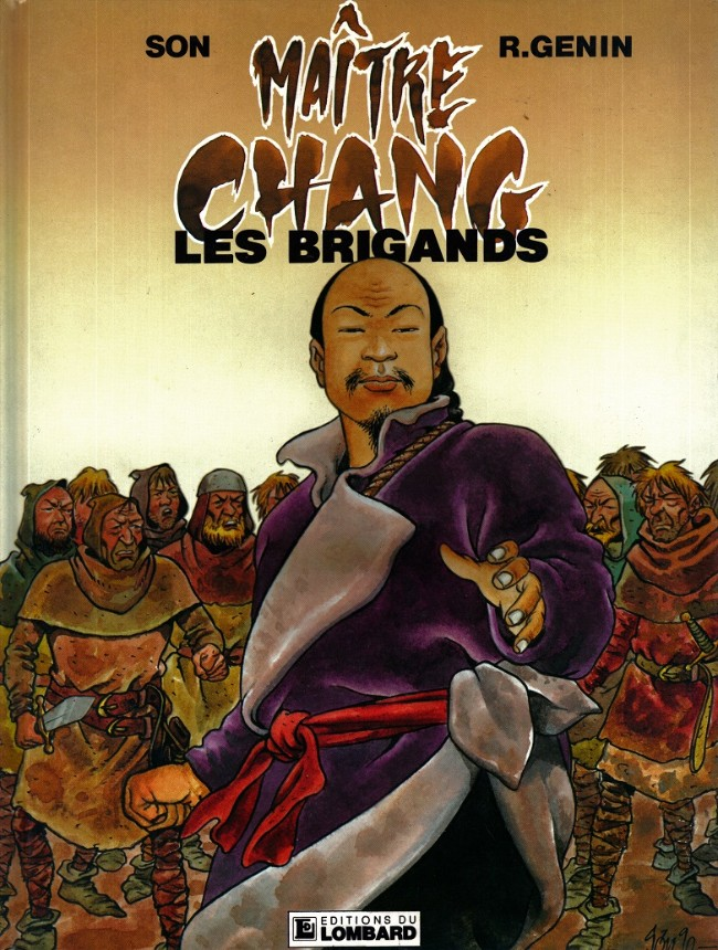 Couverture de Maître Chang -1- Les brigands
