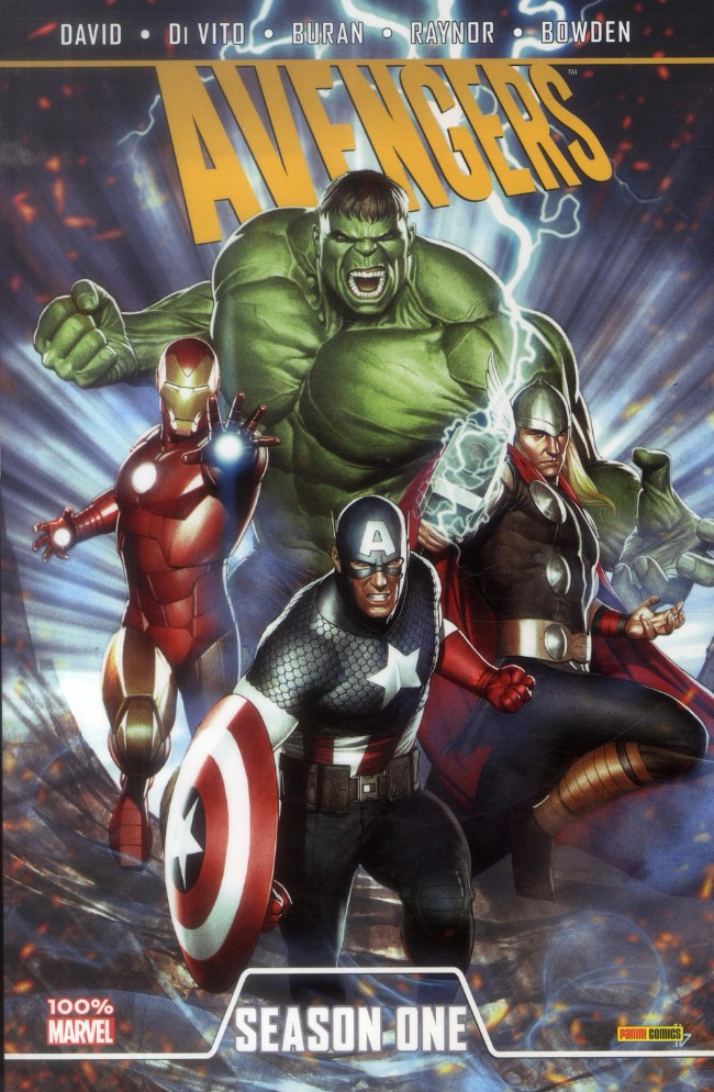 Couverture de Season One (100% Marvel) -11- Avengers
