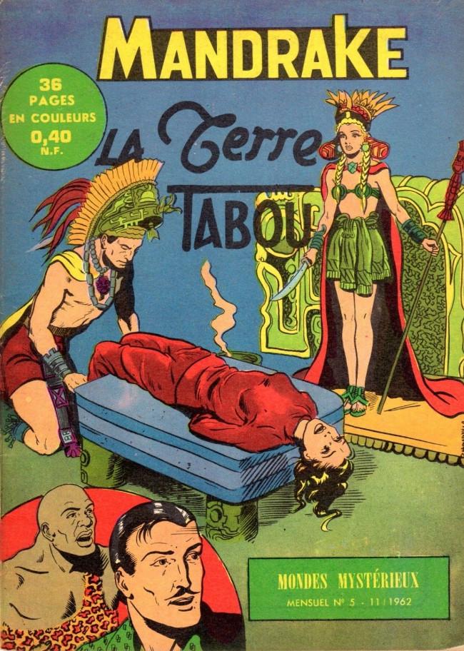 Couverture de Mandrake (1e Série - Remparts) (Mondes Mystérieux - 1) -5- La terre tabou