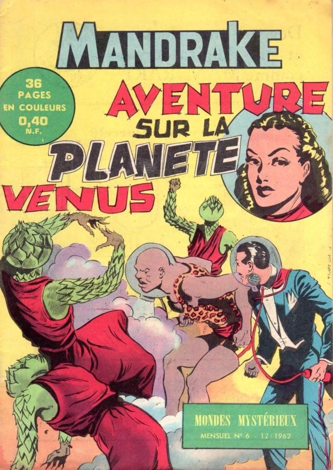Couverture de Mandrake (1e Série - Remparts) (Mondes Mystérieux - 1) -6- Aventure sur la planète vénus
